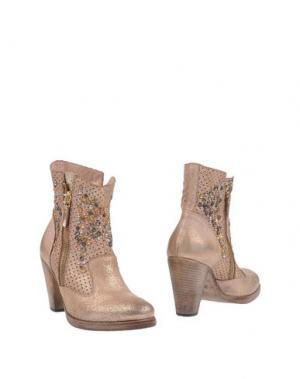 Полусапоги и высокие ботинки CORVARI. Цвет: розовый