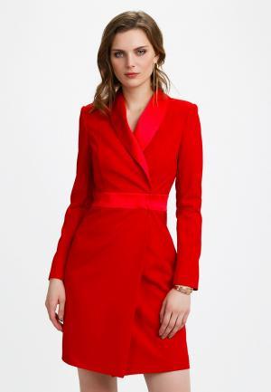Платье Audrey Right. Цвет: красный