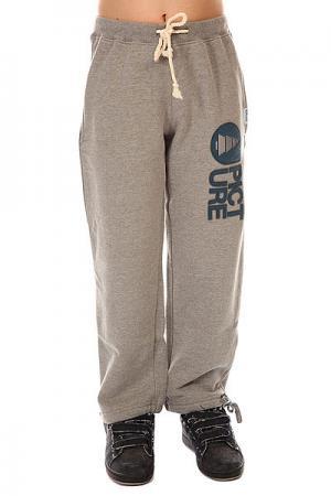 Штаны широкие детские  Rampe Pants Grey Melange Picture Organic. Цвет: серый