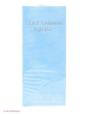 Dolce&Gabbana Light Blue Ж Товар Туалетная вода 100 мл DOLCE & GABBANA. Цвет: светло-голубой