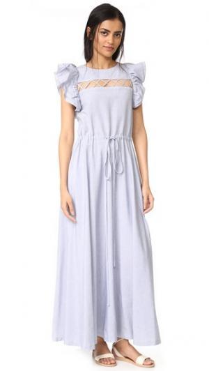 Платье Eleonore Jill Stuart. Цвет: небесный