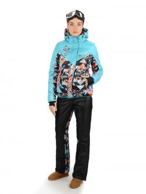 Куртка Stayer. Цвет: черный, голубой