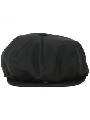 Фланелевая кепка Kijima Takayuki. Цвет: чёрный