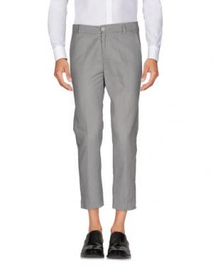 Повседневные брюки REVERES 1949. Цвет: стальной серый
