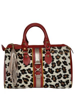 Bag CARLA FERRERI PRIVE COLLECTION. Цвет: red