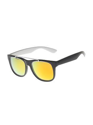 Солнцезащитные очки Gusachi. Цвет: черный, белый, оранжевый