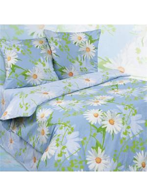 Комплект постельного белья 2.0 сп. Dream time. Цвет: голубой