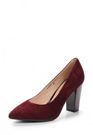 Туфли Evita. Цвет: бордовый