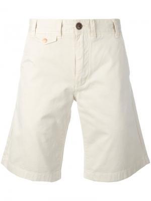 Neuston Twill shorts Barbour. Цвет: телесный
