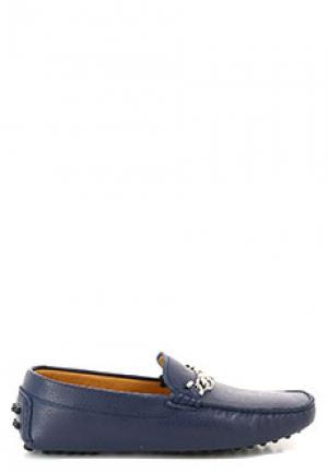 Мокасины EMPORIO ARMANI. Цвет: синий