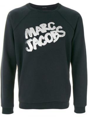 Пуловер с логотипом Marc Jacobs. Цвет: чёрный