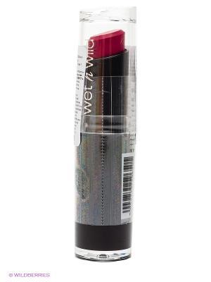 Помада для губ mega last lip color, тон cherry picking Wet n Wild. Цвет: бордовый