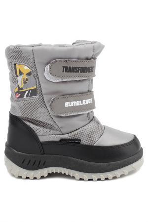 Сапожки Transformers. Цвет: серый