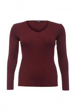 Пуловер Love My Body. Цвет: бордовый