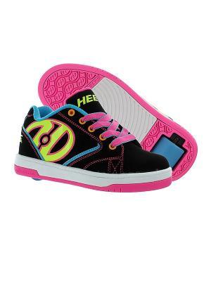 Роликовые кроссовки Propel 2.0 Heelys. Цвет: черный, розовый, салатовый, голубой
