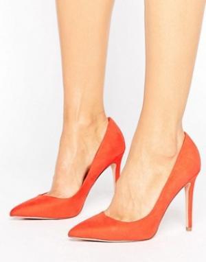 Faith Туфли-лодочки с острым носком Chloe. Цвет: оранжевый