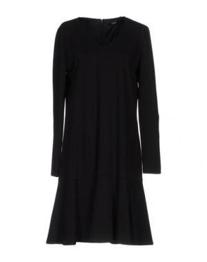 Платье до колена SEVENTY by SERGIO TEGON. Цвет: черный