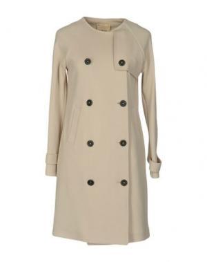 Легкое пальто GARAGE NOUVEAU. Цвет: бежевый