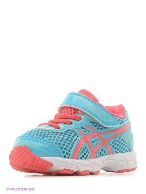 Кроссовки GT-1000 4 TS ASICS. Цвет: голубой, белый, розовый