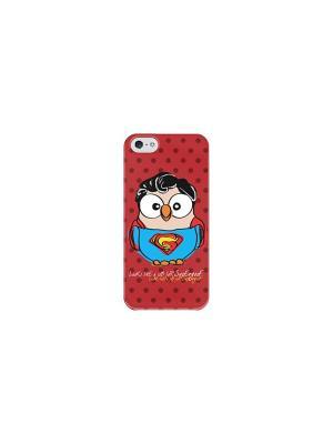 Чехол для iPhone 6/6S Супергуф Goofi. Цвет: красный