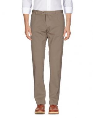 Повседневные брюки PANAMA. Цвет: бежевый