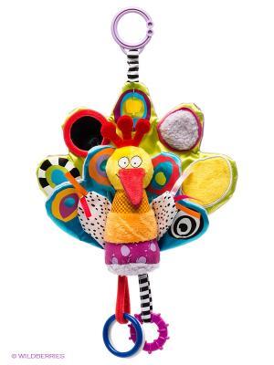 Игрушка Подвеска Птичка TAF TOYS. Цвет: салатовый, голубой, сиреневый, красный, желтый