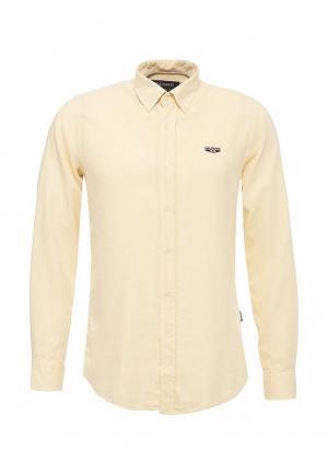 Рубашка Galvanni. Цвет: желтый