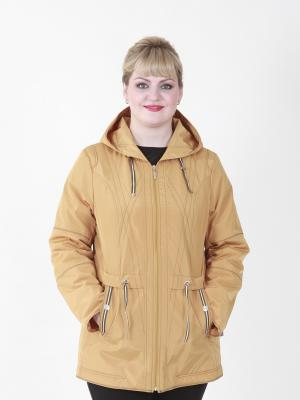 Куртка Вивиана VIKO. Цвет: горчичный