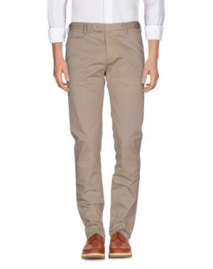 Повседневные брюки COCHRANE. Цвет: песочный