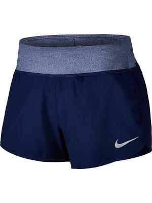 Шорты W NK FLX SHORT 3IN RIVAL Nike. Цвет: лазурный