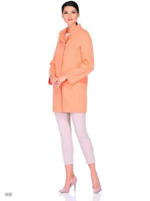 Пальто FORTUNA. Цвет: розовый