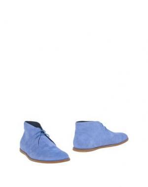 Полусапоги и высокие ботинки OPENING CEREMONY. Цвет: темно-синий