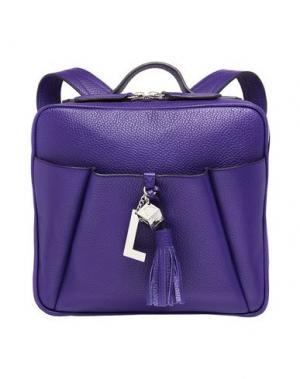 Рюкзаки и сумки на пояс LANCEL. Цвет: фиолетовый