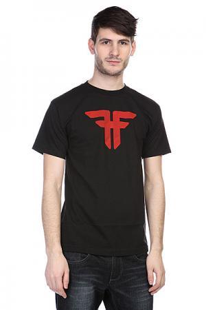 Футболка  Trademark Black/Blood Red Fallen. Цвет: черный