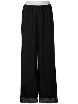 Широкие брюки  IM Isola Marras I'M. Цвет: чёрный