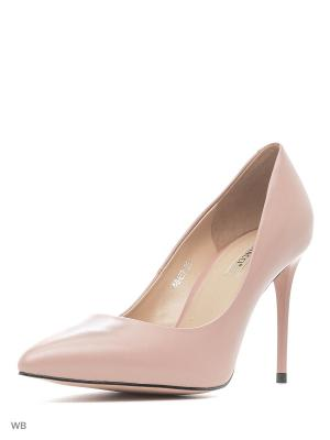 Туфли Vitacci. Цвет: бледно-розовый