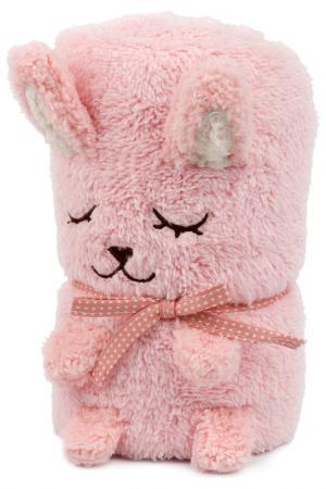 Одеяло-игрушка Зайка HOME LUX. Цвет: светло-розовый