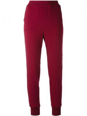 Широкие брюки с принтом A.F.Vandevorst. Цвет: белый