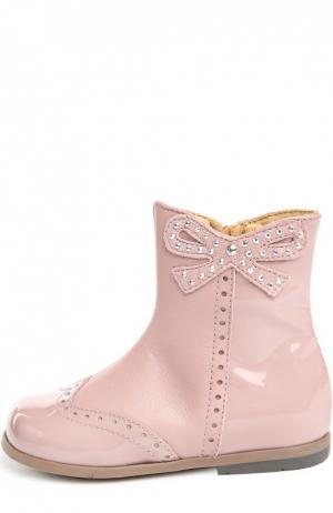 Ботинки Zecchino d'Oro. Цвет: розовый