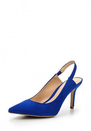 Босоножки Crislli. Цвет: синий