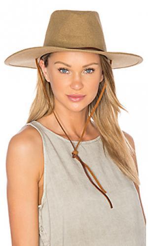 Шляпа ranger ii Brixton. Цвет: цвет загара