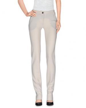 Повседневные брюки GALLIANO. Цвет: слоновая кость
