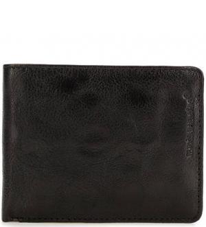 Маленькое кожаное портмоне с отделением для мелочи aunts & uncles. Цвет: черный