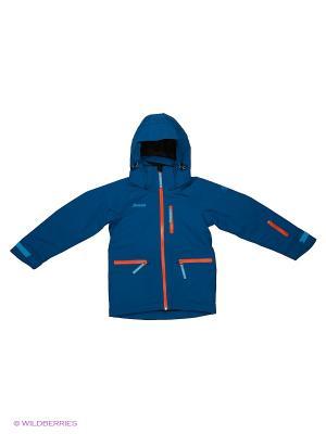 Куртка Bergans. Цвет: синий, оранжевый