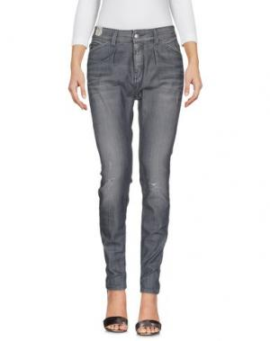 Джинсовые брюки DRYKORN. Цвет: свинцово-серый