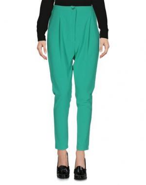 Повседневные брюки BERNA. Цвет: зеленый
