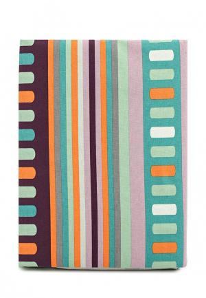 Комплект постельного белья Семейный Хлопковый Край. Цвет: разноцветный