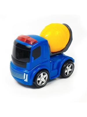 Машина инерционная Азбука Тойс. Цвет: синий