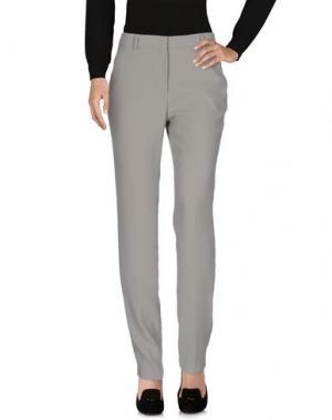 Повседневные брюки FUNNY FACE. Цвет: серый