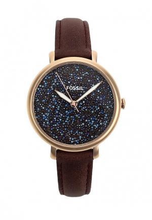 Часы Fossil. Цвет: бордовый